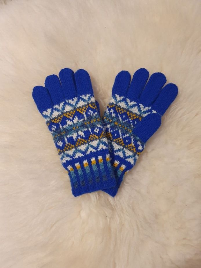 Harriet's Full Finger Conversion for Harriet's Fingerless Gloves - Shetland MRI Scanner Appeal